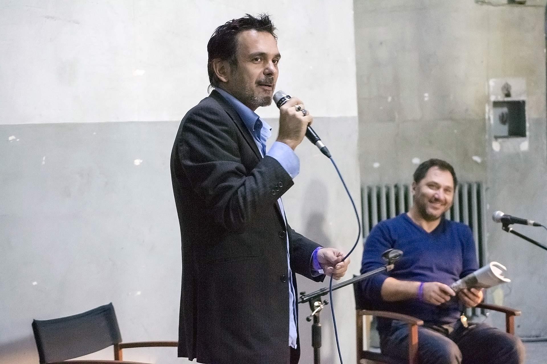Stefano W. Pasquini - Giampaolo Bernardini, ph. Marina Zaia, 2015