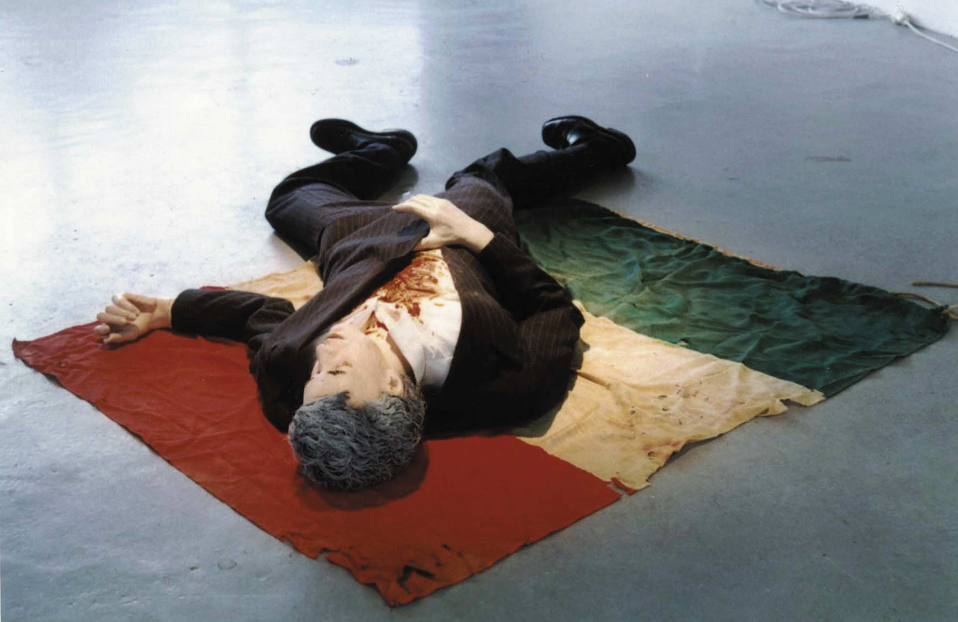 The last days of Aldo Moro 1996, Installation